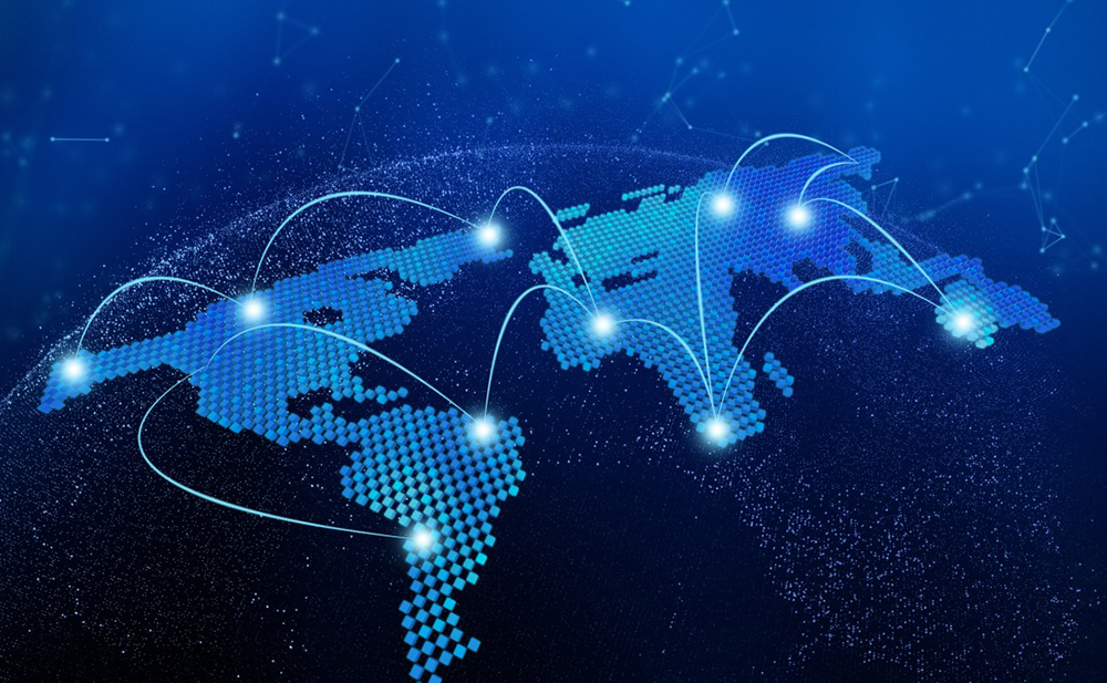 distribution mondiale luxe